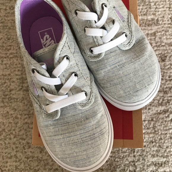 d76827d9c4 Purple Grey toddler vans